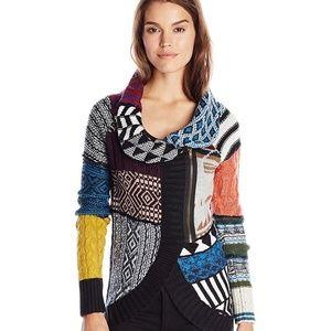 Jackets & Blazers - Desigual Diana Patchwork Sweater